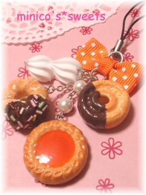 クッキー&ドーナツストラップ