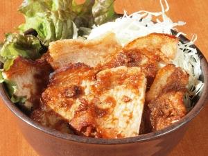 ロース生姜焼き丼