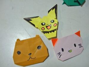 折り紙ピチュウ