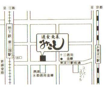 「みこし」の地図