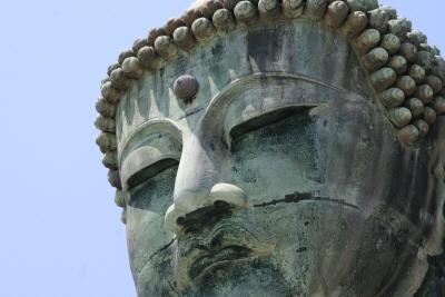 古都鎌倉の大仏さま。かまくら大仏様