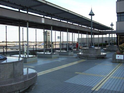 成田空港第2旅客ターミナル見学デッキ:スペイン旅行記