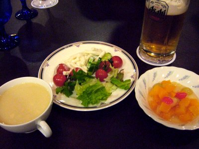成田空港周辺ホテルホテル日航ウインズ成田レストランJardinジャルダンサラダバースープバーフルーツドリンクバー