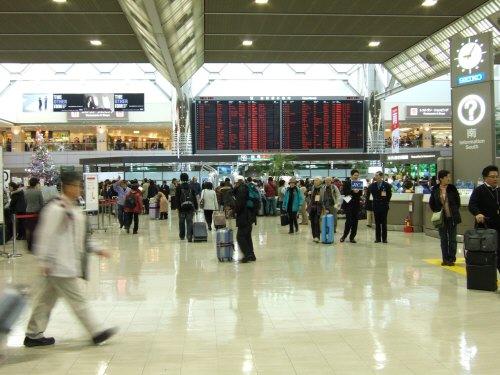 成田空港第2ターミナル:スペイン旅行記