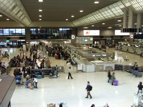 成田空港第2旅客ターミナルD団体カウンター:スペイン旅行記