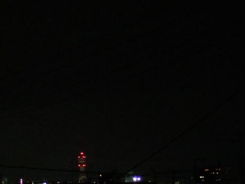 2006年新年1月1日元旦の夜空