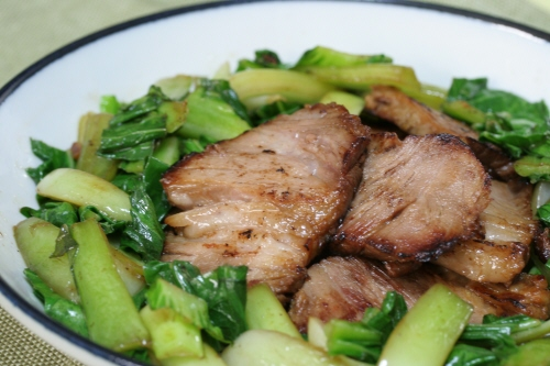 焼き豚鍋チャーシュー