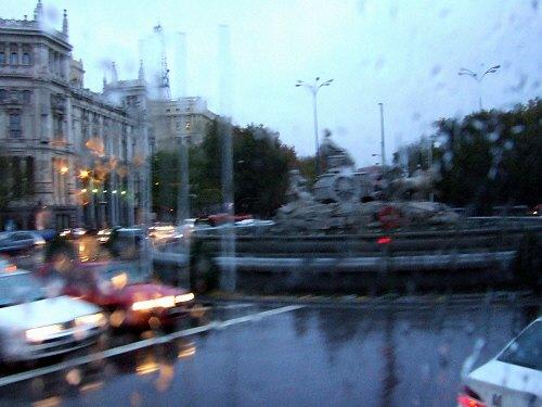 スペインマドリードマドリッドシベーレス広場plaza de la cibelesシベーレスの噴水レアル・マドリッドReal Madrid Club de Futbol