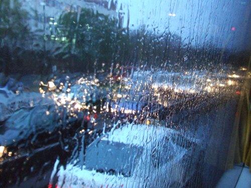 スペインマドリードマドリッド雨のマドリード