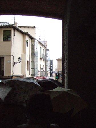 スペインマドリードマドリッドから世界遺産トレド(世界自然遺産)。Toledo旧市街城塞都市