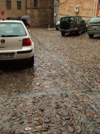 スペインマドリードマドリッドから世界遺産トレド(世界自然遺産)。Toledo旧市街石畳の道