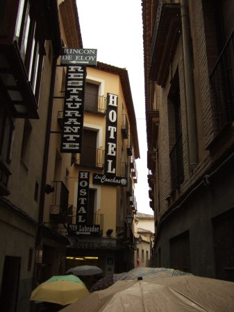 スペインマドリードマドリッドから世界遺産トレド(世界自然遺産)。Toledo HOTEL Las Conchasホテルラス・コンチャスホテル