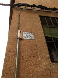 スペインマドリードマドリッドから世界遺産トレド(世界自然遺産)。Toledoトレドの街並み細く入りくんだ細道