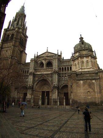 スペインマドリードマドリッドから世界遺産トレド(世界自然遺産)。Toledoトレドカテドラル大聖堂