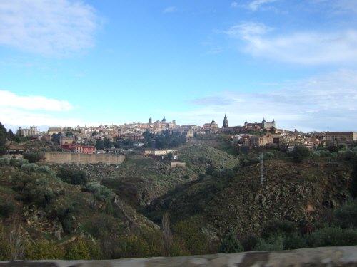 スペインマドリードマドリッドから世界遺産トレド(世界自然遺産)。Toledoトレド旧市街の風景