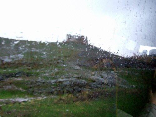 世界遺産トレド(世界自然遺産)Toledoトレドからラマンチャ地方・コンスエグラ、アラブの古城は雨でよく見えない