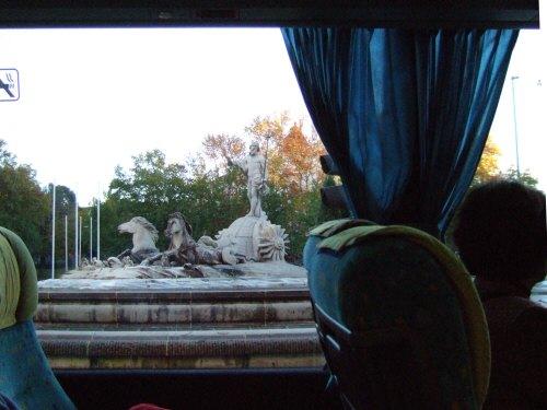 マドリードマドリッドネプトゥーノ噴水ネプトゥーノの噴水カノバスデルカスティーリョ広場