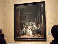 Espana España(エスパーニャ)SPAIN MADRIDマドリッドマドリードプラド美術館Museo del Pradoベラスケス「ラス・メニーナス」官女たち世界三大名画の一つ?