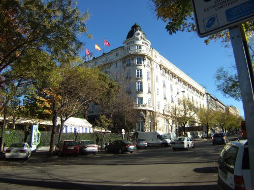 Espana España(エスパーニャ)SPAIN MADRIDマドリッドマドリードホテルリッツHOTEL Ritz Madrid