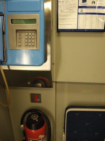 Espana España(エスパーニャ)SPAIN MADRIDマドリッドマドリードアトーチャ駅Vieja Estacion de Atocha駅舎内駅構内スペインの新幹線高速鉄道AVEアベアヴェのホームへAVE9624号セビーリャ行きセビージャ行きセビリヤ行き列車内公衆電話