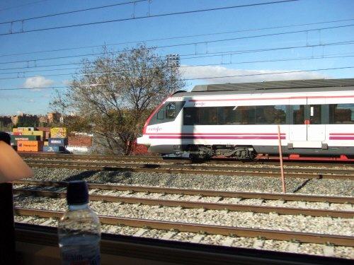 Espana España(エスパーニャ)SPAIN MADRIDマドリッドマドリードVieja Estacion de Atochaアトーチャ駅発コルドバ、セビージャ行きスペインの新幹線高速鉄道AVEアベアヴェAVE9624