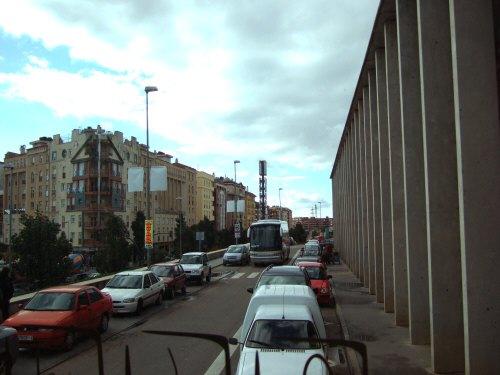 Espana España(エスパーニャ)SPAIN MADRIDマドリッドマドリードVieja Estacion de Atochaアトーチャ駅発コルドバ、セビージャ行きスペインの新幹線高速鉄道AVEアベアヴェコルドバ中央駅前