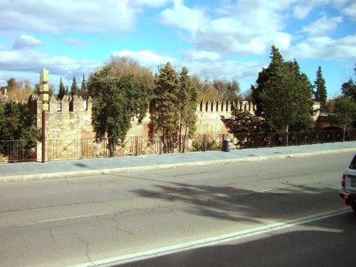 Espana España(エスパーニャ)SPAIN コルドバcordobaコルドバのアルカサル城壁