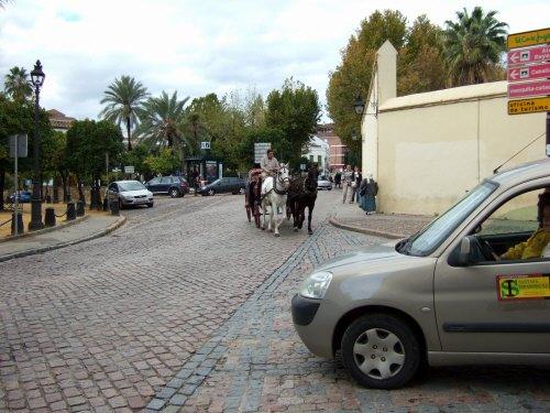 Espana España(エスパーニャ)SPAIN 世界遺産コルドバcordobaコルドバアルカサル通りアルカサルアルカサールAlcazarアンダルシア地方