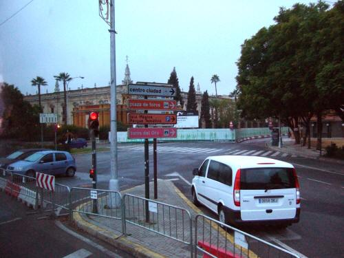 España(エスパーニャ)SPAINフラメンコの本場セビリヤへSEVILLAセビリアセビージャセビーリャの風景景色街並み