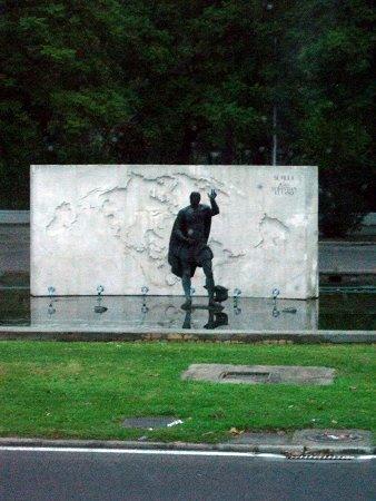 España(エスパーニャ)SPAINフラメンコの本場セビリヤへSEVILLAセビリアセビージャセビーリャポルトガルの航海者フェルディナンド・マゼランの記念碑Fernao de Magalhaes