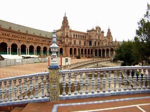 España(エスパーニャ)SPAINフラメンコの本場セビリヤへSEVILLAセビリアセビージャセビーリャスペイン広場Plaza de Espana