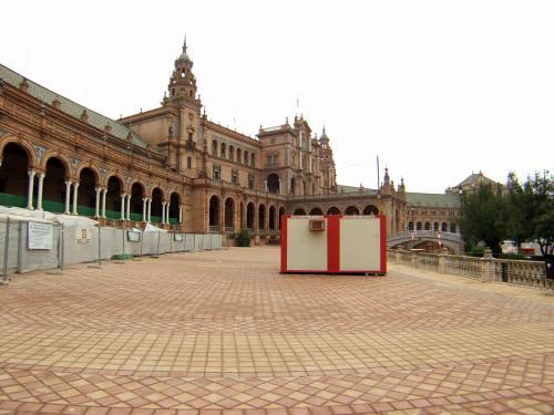 España(エスパーニャ)SPAINフラメンコの本場セビリヤへSEVILLAセビリアセビージャセビーリャスペイン広場Plaza de Espanaマリアルイサ公園