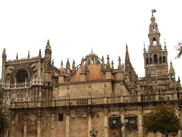 España(エスパーニャ)SPAINフラメンコの本場セビリヤへSEVILLAセビリアセビージャセビーリャ大聖堂カテドラルヒラルダの塔世界3大カテドラル世界3大大聖堂世界遺産世界文化遺産