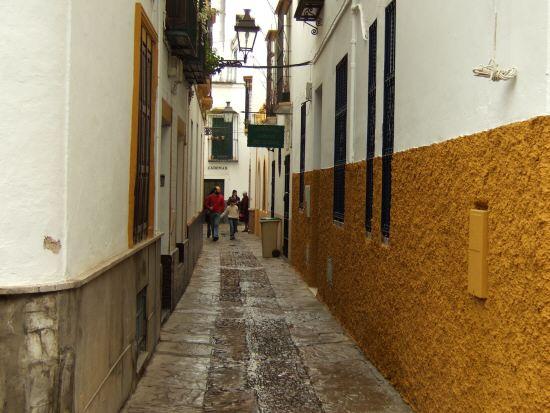 España(エスパーニャ)SPAINフラメンコの本場セビリヤへSEVILLAセビリアセビージャセビーリャサンタ・クルス街Barrio de Santa Cruz旧市街ユダヤ人街パティオ風な広場中庭細く入りくんだ道