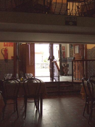 España(エスパーニャ)SPAINフラメンコの本場セビリヤへSEVILLAセビリアセビージャセビーリャクリストバル・コロン通りPo.de Cristobal Colonランチはタブラオエル・パティオ・セビリャーノEL PATIO SEVILLANO店内の様子