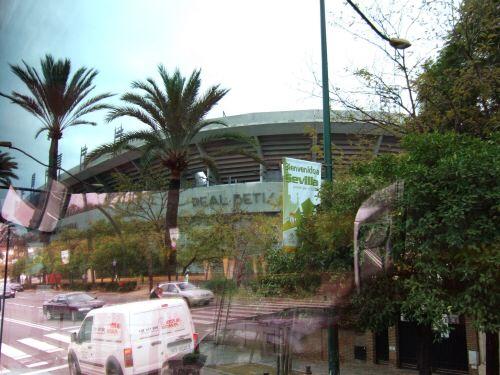 España(エスパーニャ)SPAINフラメンコの本場セビリヤへSEVILLAセビリアセビージャセビーリャリーガ・エスパニョーラスペインサッカーリーグレアル・ベティスリアル・ベティスReal Betis BalompieホームグラウンドEstadio Manuel Ruiz de Loperaエスタディオ・マヌエル・ルイス・デ・ロペラ