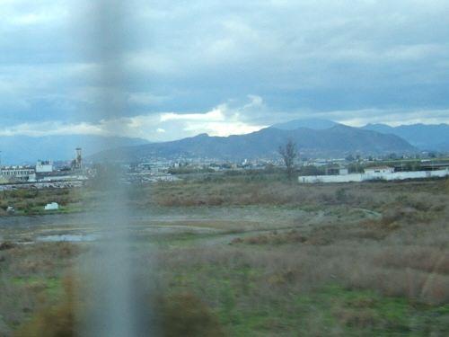 EspañaエスパーニャSPAINセビリヤSEVILLAセビリアセビージャセビーリャからコスタ・デル・ソル、ミハスへCOSTA DEL SOL Mijas高速道路E15号線地中海マラガ空港のコントロールタワーMALAGA