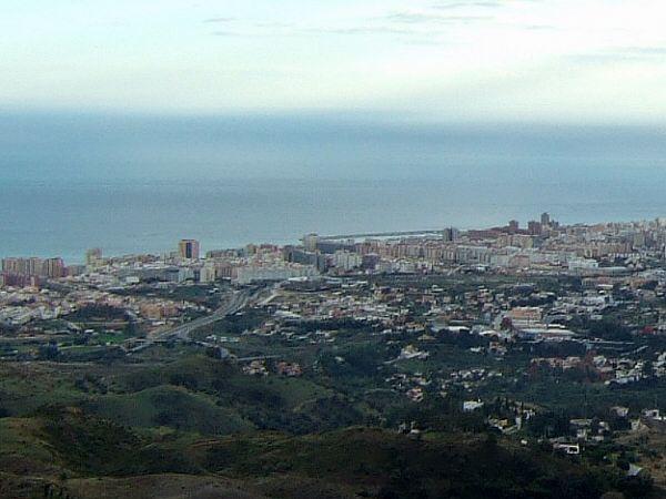 エスパーニャSPAINセビリヤSEVILLAセビリアセビージャセビーリャからコスタ・デル・ソル、ミハスへCOSTA DEL SOL Mijas展望台から見た地中海ビーチリゾート地Marbella