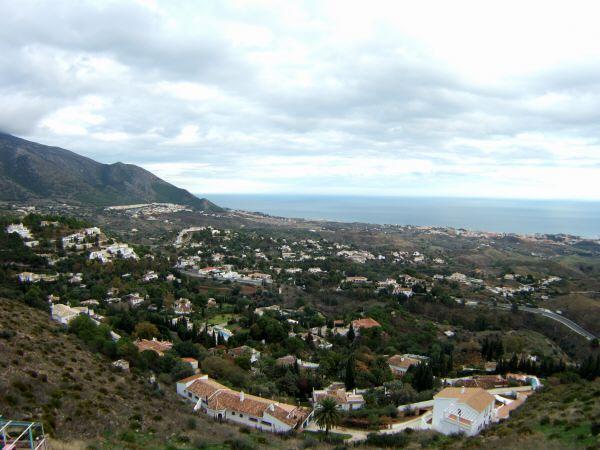 エスパーニャSPAINセビリヤSEVILLAセビリアセビージャセビーリャからコスタ・デル・ソル、ミハスへCOSTA DEL SOL Mijas展望台から見た地中海