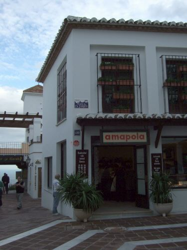 エスパーニャSPAINセビリヤSEVILLAセビリアセビージャセビーリャからコスタ・デル・ソル、ミハスへCOSTA DEL SOL Mijas青空に白い壁amapolaアマポーラ