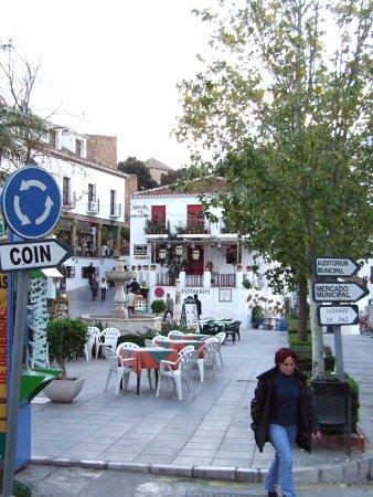 エスパーニャSPAINセビリヤSEVILLAセビリアセビージャセビーリャからコスタ・デル・ソル、ミハスへCOSTA DEL SOL Mijasミハスの街角写真CANONデジカメテレビコマーシャルサン・セバスチン通りサン・セバスティアン通り