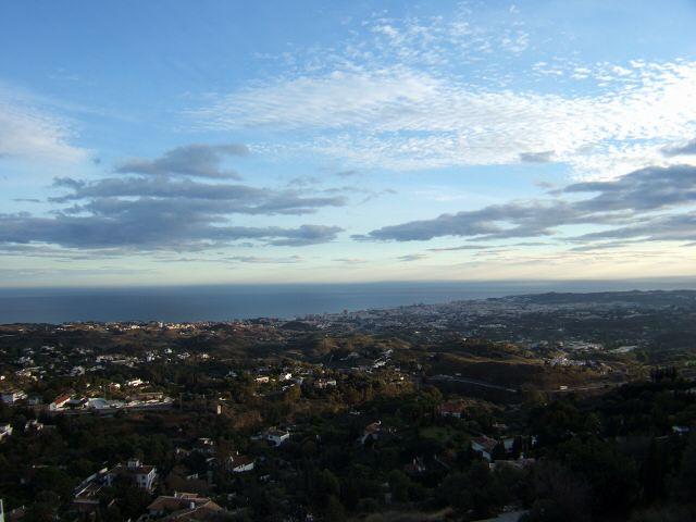 エスパーニャSPAINセビリヤSEVILLAセビリアセビージャセビーリャからコスタ・デル・ソル、ミハスへCOSTA DEL SOL Mijasミハス展望台からみた地中海とマルベーリャの街