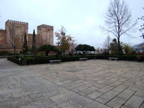 エスパーニャSPAINアンダルシア地方グラナダGRANADA世界遺産世界文化遺産アルハンブラ宮殿Palacio de la Alhambraアルカサバ