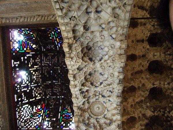 エスパーニャSPAINアンダルシア地方グラナダGRANADA世界遺産世界文化遺産アルハンブラ宮殿Palacio de la Alhambra王宮二姉妹の間二姉妹の部屋