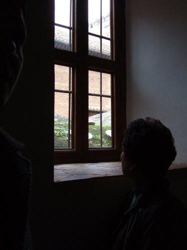 エスパーニャSPAINアンダルシア地方グラナダGRANADA世界遺産世界文化遺産アルハンブラ宮殿Palacio de la Alhambra王宮サウナだかお風呂だかの大浴場の屋根Banos