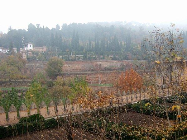 エスパーニャSPAINアンダルシア地方グラナダGRANADA世界遺産世界文化遺産アルハンブラ宮殿Palacio de la Alhambraヘネラリフェ庭園ヘネラリーフェ庭園Jardin de Generalife