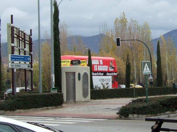 エスパーニャSPAINアンダルシア地方グラナダGRANADAギフトショップ土産物屋GAUDI周辺の風景公衆便所