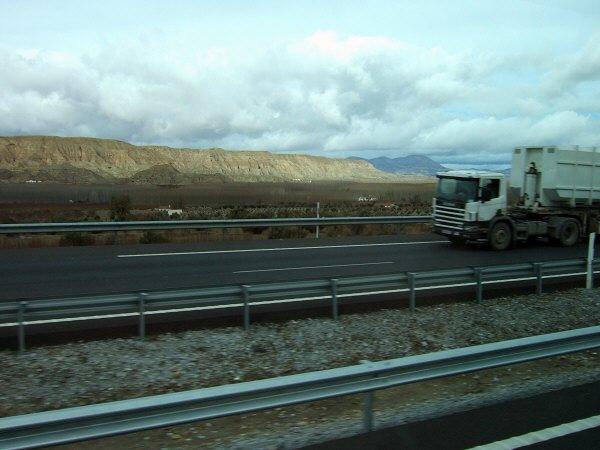 エスパーニャSPAINアンダルシア地方高速道路A92号線