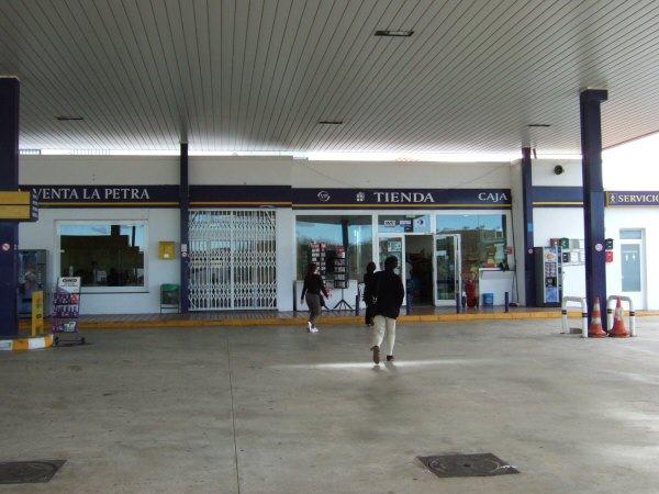エスパーニャSPAINアンダルシア地方高速道路A92号線沿いに見えた風景景色サービスエリアSA