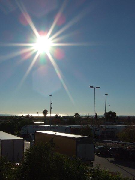 エスパーニャSPAINバレンシア地方バレンシア州都ホテルホリデイインバレンシア高速道路E15トイレ休憩サービスエリアSA